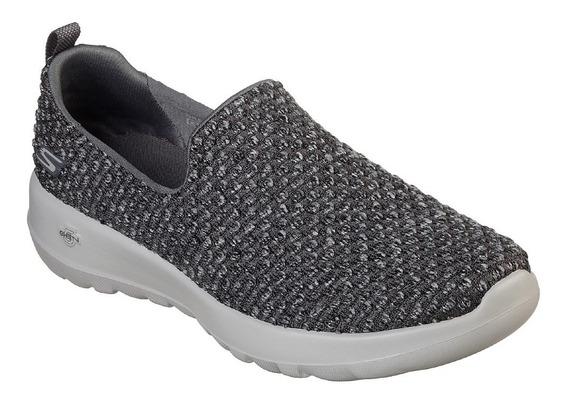 Zapatillas Sin Cordon Skechers Mujer Panchas Elastizadas