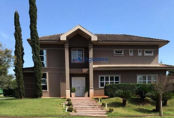 Casa Com 4 Dormitórios À Venda, 400 M² Por R$ 2.800.000,00 - Royal Tennis - Londrina/pr - Ca1424