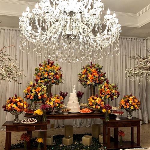 Imagem 1 de 10 de Salão De Festa, 3 Lindos Espaços Com Buffet Completo