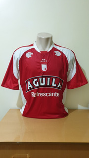 Camisa Santa Fé Da Colômbia Ssw Aguila M