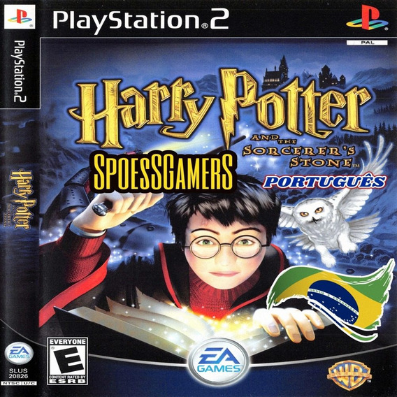 Harry Potter Ps2 E A Pedra Filosofal Português Patch