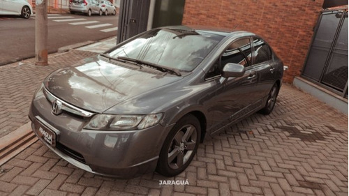 Imagem 1 de 12 de Civic 1.8 Lxs 16v Flex 4p Automático