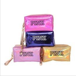 Bolsa Necessaire Pink Holográfica Maker