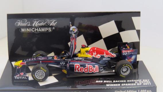 1:43 Miniatura Red Bull Rb7 2011 Vettel Gp Brasil # Senna