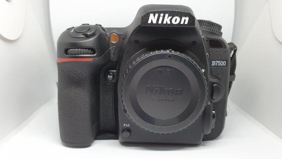 Nikon Dslr D-7500 21.5mp Tela 3.2 Bluetooth/wifi