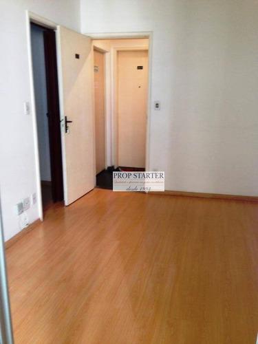 Imagem 1 de 9 de Apartamento Com 1 Dormitório Para Alugar, 35 M² Por R$ 1.800/mês - Jardim Paulista - Propstarter - Ap0797