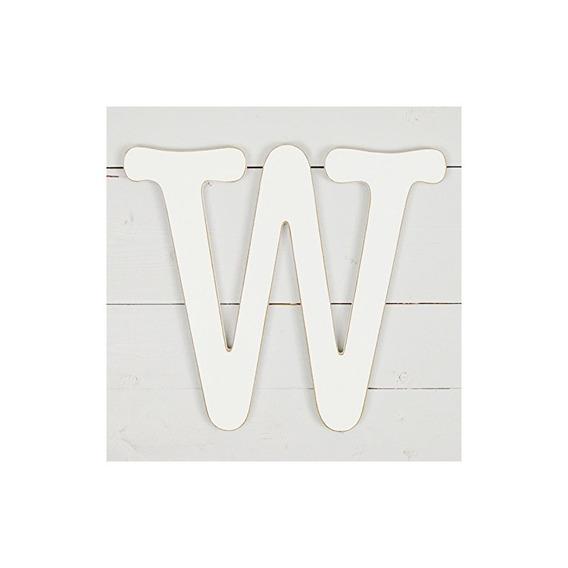 11.5. Decoración De Pared De Máquina De Escribir Letra W- Bl