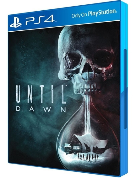 Until Dawn Ps4 Original Midia Fisica Novo Dublado Português