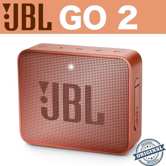 Caixa Som Bluetooth Jbl Go 2 Original Garantia E Nota Fiscal