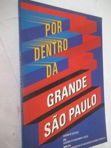 * Livro - Por Dentro Da Grande São Paulo - Politica