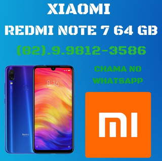 Xiaomi Redmi Note 7 64 Gb , Pronta Entrega !!