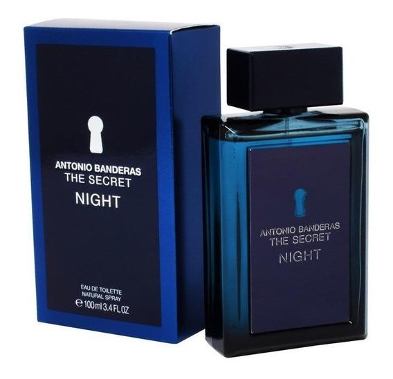 The Secret Night 100 Ml Eau De Toilette De Antonio Banderas