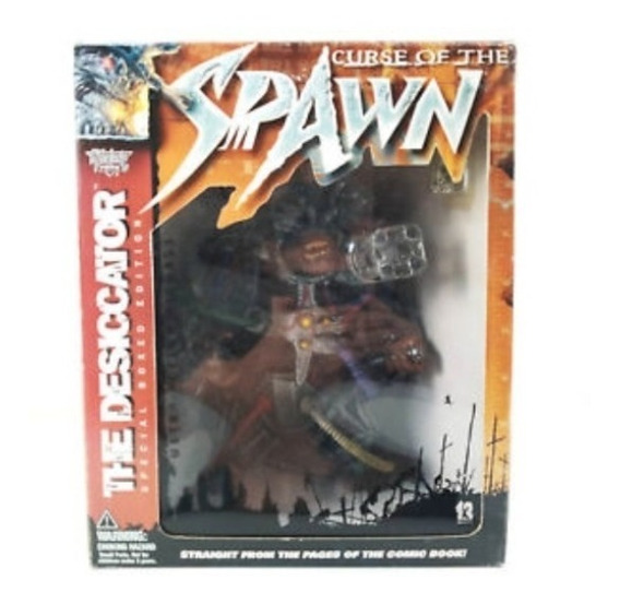 Curse Of The Spawn - Mcfarlane Toys - Desiccator Boxed 1998
