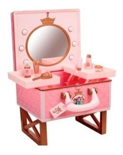Tocador Con Espejo Disney Barbie Princesa Coleccionable Xtc