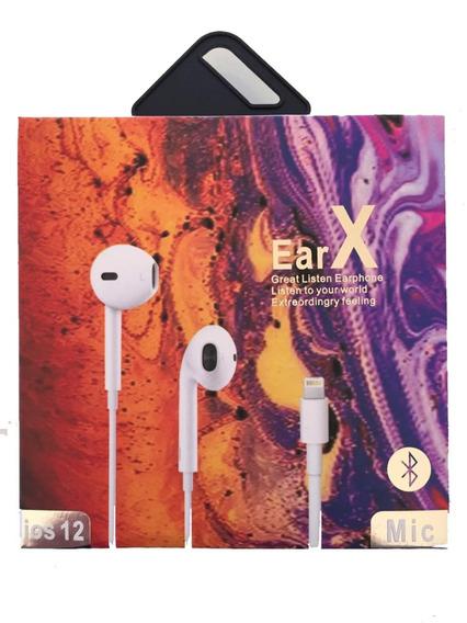 Promoção! Fone De Ouvido iPhone 5 6 7 8 X Em Até 12x Sem Juros