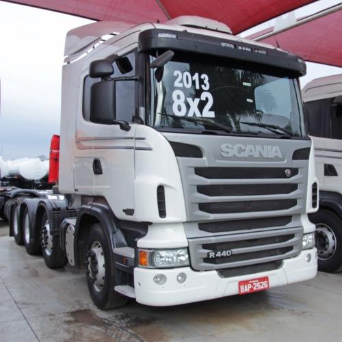 Imagem 1 de 9 de Scania R440 - 2013/13 - 8x2 (bap 2526)