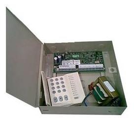Kit Central Dsc Pc1832 8 Zonas + Pc1555 + Gabinete + Trafo