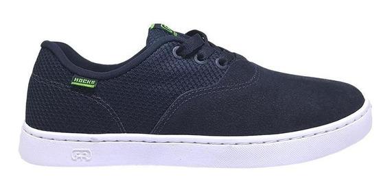 Tênis Hocks Sonora Skate Navy/green Azul