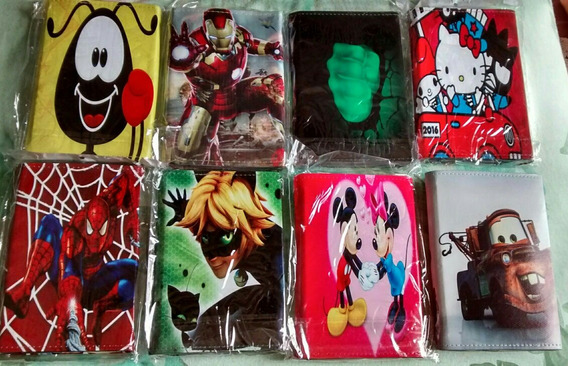 Capa Infantil Tablet 7 Toy Story Homen Aranha Batman Smiling