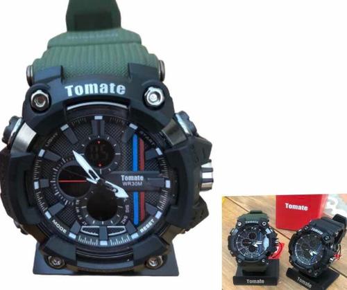 Relógio Tomate Masculino Mtx Esportivo A Prova D'água Barato