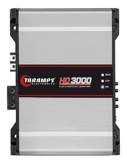 Amplificador Digital Taramps Hd 3000 2 Ohms Potencia 3000w