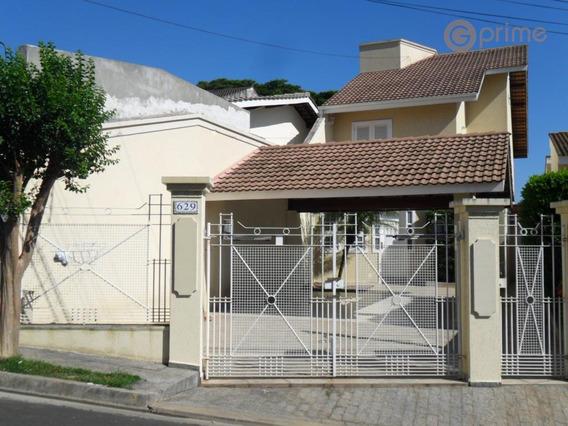 Casa Residencial À Venda, Nova Gardênia, Atibaia. - Ca0029