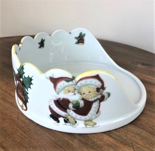 Imagem 1 de 5 de Panetoneira De Porcelana - Natal
