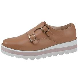 Zapatos Dama Marca Vicenza Kv435 Nuez
