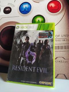 Resident Evil 6 Xbox 360 Original Físico Usado