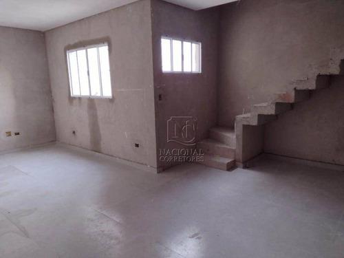 Cobertura Com 2 Dormitórios À Venda, 106 M² Por R$ 390.000,00 - Jardim Santo Alberto - Santo André/sp - Co4517