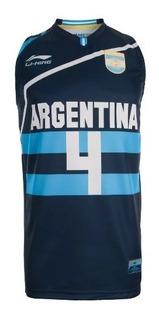 Camiseta Basquet Seleccion Argentina Scola Ginobili Adulto