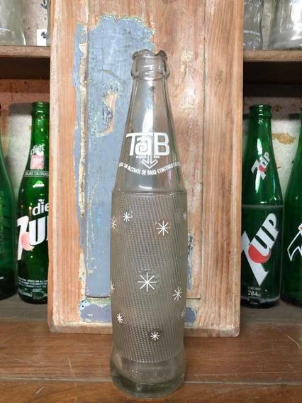 Antigua Botella Gaseosa Tab Coleccionable