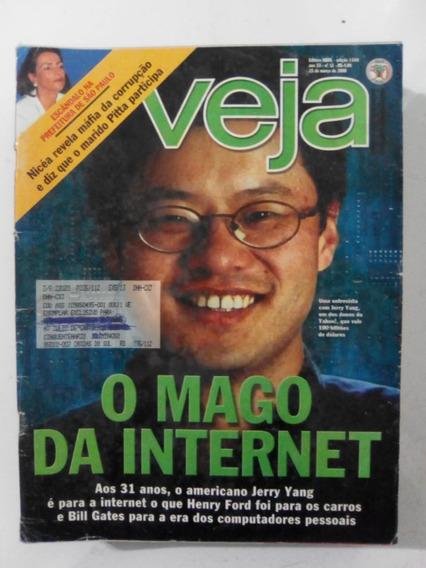Revista Veja 1640 Jerry Yang Cassia Eller Ivete P Ward 2000