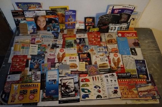 Mega Lote De 122 Publicidades Antiguas Fixtures Y Mas !!!