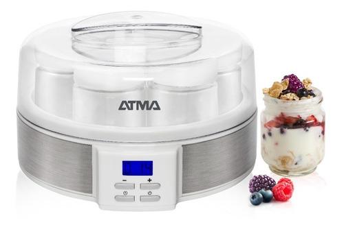 Imagen 1 de 8 de Yogurtera Atma Ym3010 Con Timer 7 Yogures
