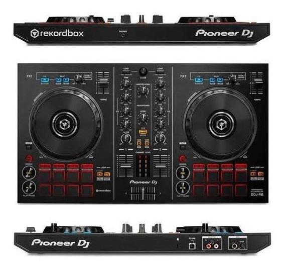 Controladora Pioneer Dj Ddj-rb Nova + Licença Rekordbox