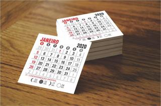 Mini Calendário 2020 - Jogos Soltos - 1000 Unidades