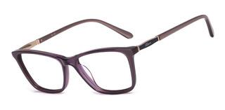 Armação Oculos Ogrife Og 988-c Feminino Com Lente Sem Grau