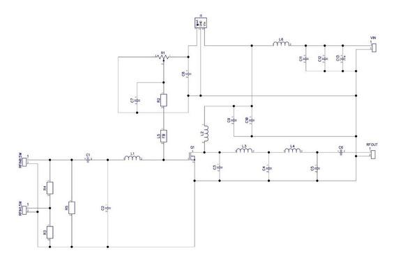 Kit Para Montar Amplificador De 6w E 15w - Rd06hvf1 E Rd15