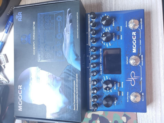 Pedal Mooer Ocean Machine