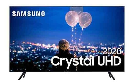 Samsung Smart Tv Crystal Uhd Tu8000 4k 50 , Borda Infinita