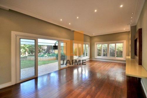 Ótima Casa Sobrado  512 M² De Terreno,297 M² De Área Construída,com  Guarita De Segurança! - Bi3410