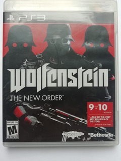 Ps3 Wolfenstein The New Order $375 Pesos Seminuevo Mikegames