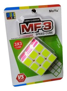 Cubo Magico 3x3 Moyu Mf3 Speed Cube En Blister