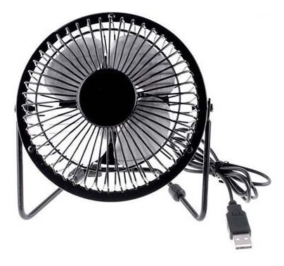Mini Ventilador Usb Potente Silencioso Compacto Portátil