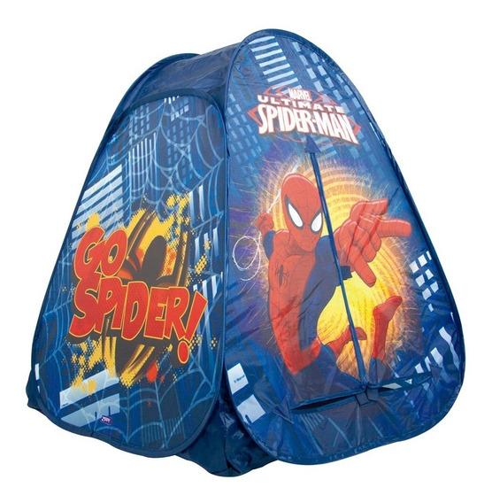 Brinquedo Barraca Menino Infantil Homem Aranha Spider 92cm