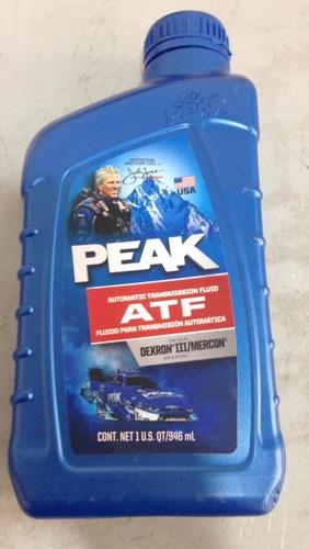Aceite Transmisión Automática  Atf Peak 1l Zona Norte