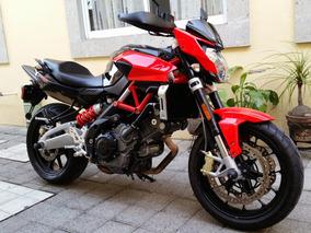 Moto Aprilia Shiver 750 Negra Con Rojo