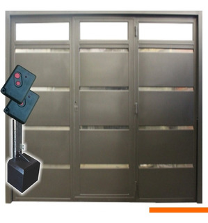 Portón Levadizo Automático 2,70 X 2,35 Puerta Ventiluces Apl