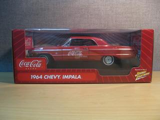 Mini Chevrolet Chevy Impala 409 1964 Coca Cola 1:18 Raridade